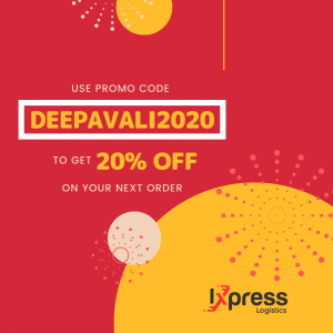 Copy of Red and Yellow Minimal Happy Deepavali Whatsapp Story 1 | Ixpress Courier Service Singapore